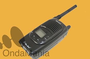 ALAN 451R PMR - DESCATALOGADO Alan 451R PMR de uso libre con 8 canales.