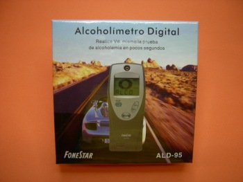 ALCOHOLIMETRO DIGITAL