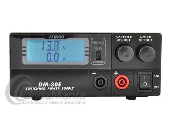 ALINCO DM-30E FUENTE DE ALIMENTACION DIGITAL CONMUTADA REGULABLE 30 AMP MAX.