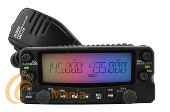 ALINCO DR-735E TRANSCEPTOR MOVIL FM BIBANDA UHF/VHF 50W, FULL-DUPLEX,... - Transceptor móvil doble banda FULL-DUPLEX proporcionándonos un uso simultáneo en las bandas VHF/UHF, incluyendo recepción en banda aérea, dispone de 50 W y de mas de 1000 memorias, caratula extraible,...
