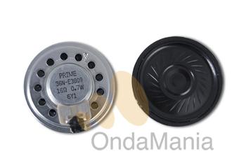 ALTAVOZ ORIGINAL PARA YAESU VX-120, VX-170, HX-370 Y HX-270 - Altavoz original para los Yaesu VX-120, VX-170 y para los Standart marinos HX-370 y HX-270.