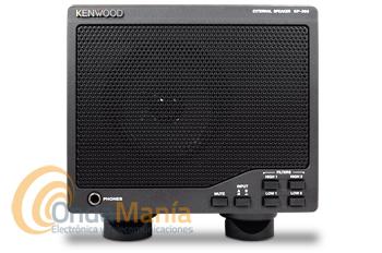 KENWOOD SP-990 ALTAVOZ EXTERIOR PARA EL TS-990 - Este altavoz es el complemento ideal para el Kenwood TS-990, con conmutador para dos entradas, toma de altavoz de 6,3 mm y varios filtros.