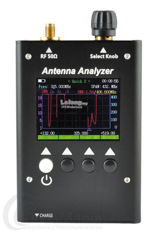 SURECOM SA-250 ANALIZADOR GRAFICO DE ANTENA CON LCD COLOR