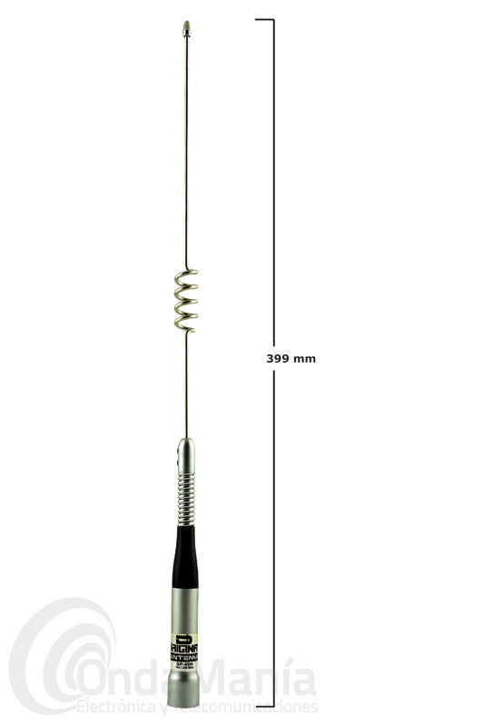 D-ORIGINAL DX-SP-40H ANTENA DOBLE BANDA UHF/VHF PARA MOVIL