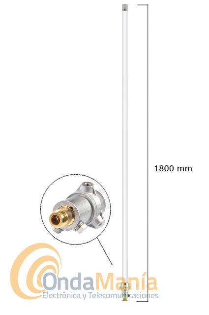 DIAMOND X-5000 ANTENA TRIBANDA 144/430/1200 MHZ PARA BASE (ANTENA ORIGINAL JAPON)