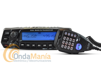ANYTONE AT 5888UV EMISORA DOBLE BANDA VHF/UHF 144/430 MHZ+SOPORTE FRONTAL DE REGALO + PORTES GRATIS