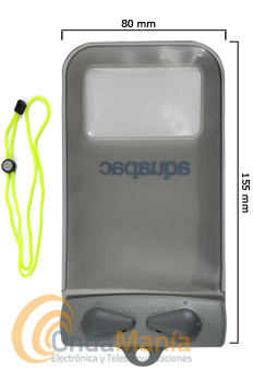 AQUAPAC X-MINI IPHONE FUNDA ESTANCA PARA MOVIL CON PANTALLA DE 4.2 PULGADAS MAXIMO
