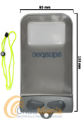 AQUAPAC X-MINI IPHONE FUNDA ESTANCA PARA MOVIL CON PANTALLA DE 4.2 PULGADAS MAXIMO - Funda Aquapac 100% estanca y sumergible para teléfonos móviles con pantalla no mas grande de 4.2 pulgadas como el iPhone 4 o similares, dentro de la funda el teléfono funciona como siempre.