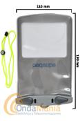 """FUNDA ESTANCA AQUAPAC 348 PEQUEÑA PARA MOVILES CON UNA PANTALLA DE 6,1"""" MAXIMO - Aquapac 348 pequeña es una funda 100% estanca y sumergible para móviles con pantalla de hasta 6,1"""" (Samsung Galaxy, HTC y similares) gps."""