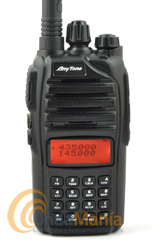 ANYTONE AT-3208UV II TRANSCEPTOR PORTATIL DOBLE BANDA+RADIO FM COMERCIAL