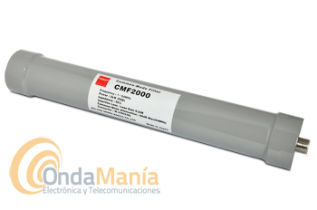 DIAMOND CMF-2000 FILTRO PASABAJOS PARA ANTENA (ORIGINAL JAPON) - Filtro Diamond (original) de antena para una frecuencia de 1 a 54 Mhz con una potencia máxima de 2kW, 50 Ohm de impedancia,...