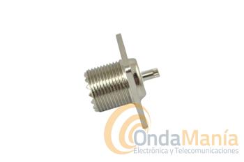 HEMBRA PL TORNILLOS - Conector hembra PL para sujección en chasis con tornillos.