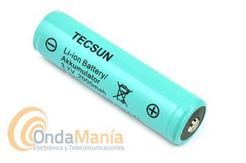 BATERIA PARA TECSUN PL-880 - Batería original de litio para Tecsun PL-880 con 3.7 V, 2.0 Ahm y 7.4 Wh.