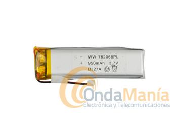 BATERIA PARA MIDLAND BT-NEXT Y SERIES BTX - Batería de repuesto para los intercomunicadores de moto Midland BT-NEXT y series BTX.