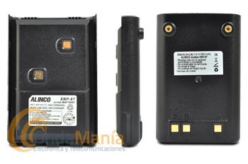 EBP87 BATERIA ALINCO PARA EL DJ-A446 - Batería Alinco de Litio-Ion con 7,4V y 1500 mAh para el DJ-A446