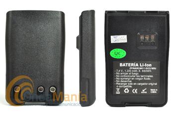 BATERIA ORIGINAL PARA EL KOMBIX RL-120U Y DYNASCAN V-600 Y DA-350 - Batería de litio con 7,4 V y 1200 mAh para el Kombix RL-120 y el Dynascan V-600 y DA-350