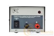 RPS-1203 - Fuente de alimentación filtrada y estabilizada de 13,8V, 3 Amp. continuos y 5 Amp. de pico.