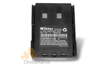 BATERIA FR-80LI PARA WINTEC LP-4502 - Bateria Wintec FR-80LI de litio-polymer con 7,4V y 1500 mAh para equipos Wintec.