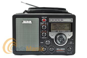 TECSUN BCL-3000 RECEPTOR MW/SW/FM STEREO 3.0 - 28 MHZ - Receptor digital de alta sensibilidad con las siguientes bandas: FM Estereo, MW, SW1, SW2, SW3 con una cobertura de 3.0 a 28 Mhz, reloj, alarma, sleep timer,...