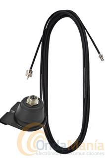 SOPORTE BL-12 + CABLE CON CONECTORES LC-55 - Pack compuesto porel soporte Tagra BL-12 y el cable de antena con conectores LC-55.