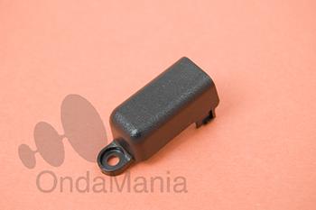 TAPA DE BLOQUEO PARA EL CONECTOR SP/MIC DEL KENWOOD TK-3301/TK-3201/TK-2207 - Tapa (guardapolvo) para cubrir la toma sp/mic cuando tenemos puesto el pinganillo (no incluye tornilleria)