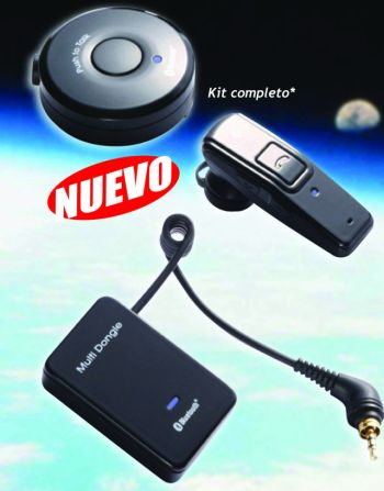 SECODE MICRO-AURICULAR INALAMBRICO BLUETOOHTH PARA KENWOOD, MIDLAND CT-200, CT-210 Y DYNASCAN