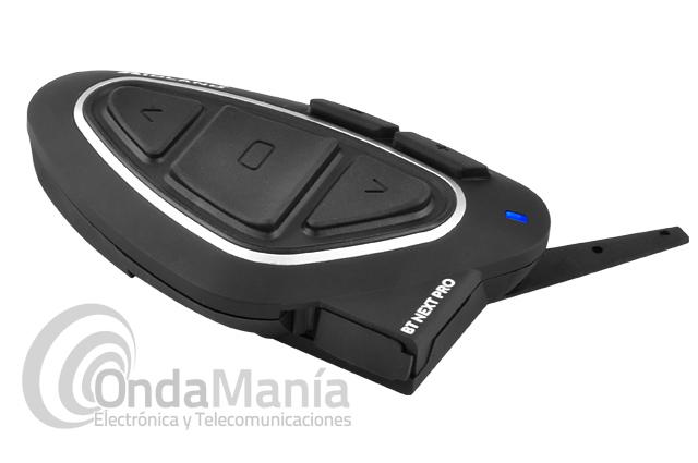 MIDLAND BT NEXT PRO TWIN V2 PILOTO/COPILOTO CON ALTAVOCES HI-FI+PORTE GRATIS - El Midland BT NEXT PRO TWIN V2 (piloto/copiloto o moto/moto) es la solución mas avanzada en el mercado para aquellos que quieren el mejor rendimiento para sus conversaciones. Utiliza tecnología Bluetooth Dual Core 4.2.Intercomunicación entre 8 personas simultáneamente y una distancia aproximada de 1.6 km. Ahora con altavoces HI-FI SUPERBASS SOUND.