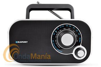 BLAUPUNKT BTA-6000 NEGRA - Radio analógica de escritorio / portátil FM/MW.