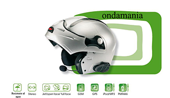 MIDLAND BT SINGLE INTERCOMUNICADOR PARA MOTO - Midland BT Single es un sistema multimedia para el piloto