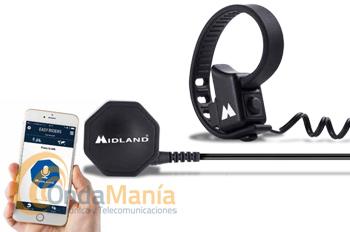 MIDLAND BTT BUTTON+BTT TALK PARA HABLAR CON TU INTERCOM DE MOTO SIN LIMITE DE DISTANCIA - Con el Midland BTT BUTTON botón de manillar y la aplicación para comunicación en grupo para iOS y Android BTT TALK puedes hablar con tu grupo sin límite de distancia, compatible con los intercomunicadores para moto Midland BTX1 PRO, BTX2 PRO y BT-NEXT PRO