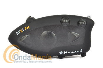 MIDLAND BTX1 FM SINGLE PACK INTERCOMUNICADOR PILOTO PARA MOTO+PORTE GRATIS