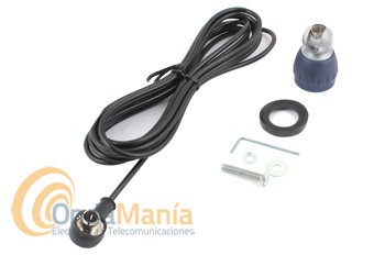 BASE Y CABLE PARA LAS SERIES SIRIO TURBO + CONECTOR PL