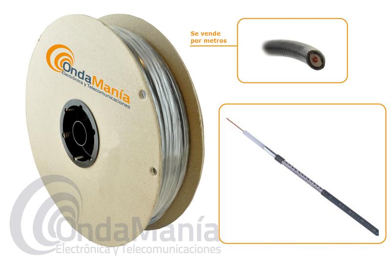 H-155 CABLE COAXIAL DE BAJA PERDIDA (DRAKA)