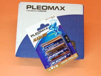 R-6 CAJA CON 10 BLISTER DE 4 PILAS ALCALINAS PLEOMAX SAMSUNG