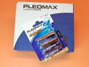 R-6 CAJA CON 10 BLISTER DE 4 PILAS ALCALINAS PLEOMAX SAMSUNG - Caja con 10 Blister de 4 pilas (total 48 pilas) R-6 (AA) alcalinas Samsung Pleomax