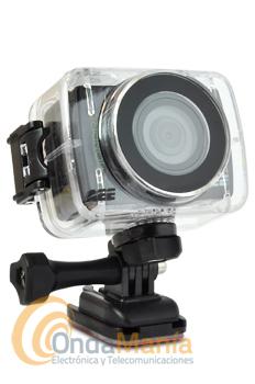 AEE SD-20F ACTION PRO CAMARA DE ACCION Y DEPORTES DE ALTA DEFINICION 1080P - Camara de alta definicionHD 1080P, super gran angular con 170º, con pantalla LCD incluida y adaptable, mando a distancia, incluye funda resistente al agua, lente de cristal, incluye soportes de montaje, función de grabación activada por sonido, incluye batería de litio, admite tarjetas de memória micro-SD hasta 32 GB,....