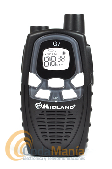 CARCASA DELANTERA PARA EL MIDLAND G7 - Carcasa delantera para el Midland G7