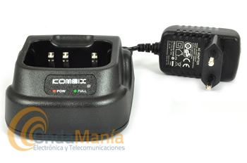 CARGADOR CON ALIMENTADOR Y BAÑERA PARA KOMBIX RL120U Y DYNASCAN V600 Y DA-350