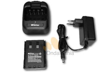 PACK DE BATERIA DE LITIO Y CARGADOR RAPIDO WINTEC - Pack de batería de litio Wintec FR-80LI y cargador rápido Wintec CHG-81B