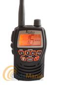 COBRA MR  HH125EU PORTATIL MARINO VHF - Walky de VHF marino resistente a salpicaduras (JIS4), con LCD retroiluminado, canal 16 directo, dos potencias seleccionables 1W y 3W, función bloqueo de teclado y reducido tamaño.