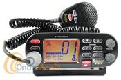 COBRA MARINE MR F75 EMISORA VHF MARINA - Emisora marina de VHF Cobra MR F75 dispone de un gran display LCD, 25 W de potencia, es sumergible (norma JIS7), tamaño reducido, DSC incorporado,...