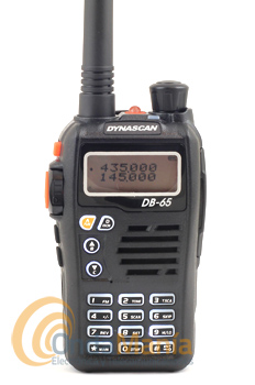DYNASCAN DB-65 WALKI DOBLE BANDA CON RADIO FM+PINGANILLO DE REGALO