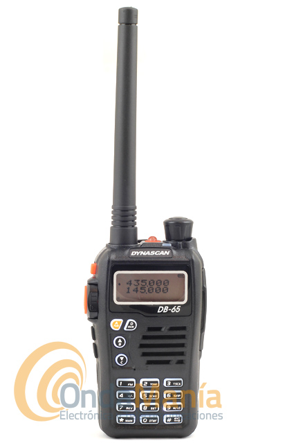 DYNASCAN DB-65 V2 BATERIA ALTA CAPACIDAD WALKI DOBLE BANDA CON RADIO FM+PINGANILLO DE REGALO - El Dynascan DB-65V2 es un walky doble banda VHF/UHF con radio comercial FM y linterna LED. Dispone de batería de litio de alta capacidad con 1800 mAh, 200 canales de memoria, tonos CTCSS y DCS, 5 W de potencia,...