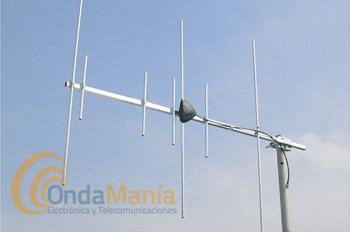 DIAMOND A1430S7 ANTENA DIRECTIVA 7 ELEMENTOS DOBLE BANDA (ORIGINAL JAPON) - Antena doble banda VHF/UHF directiva con 7 elementos con una ganancia de 7,5 dBi en VHF y 9,3 dBi en UHF y una longitud de boom de 1,25 m.