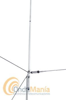 DIAMOND CP-610 ANTENA VERTICAL PARA 6 Y 10 M. ANTENA ORIGINAL - Antena vertical para las bandas de 28 y 50 Mhz (6m y 10 m) con 6,8 m de longitud y una potencia de 500 W en SSB y 200 W en FM. OFERTA HASTA FIN DE STOCK!!!