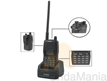 ALINCO DJ-175 TRANSCEPTOR DE VHF - Transceptor portátil de VHF de reducido tamaño con 200 canales de memoria, 5W de potencia, códigos CTCSS y DCS,...