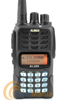 ALINCO DJ-500E WALKI TALKIE DOBLE BANDA CON RADIO FM COMERCIAL