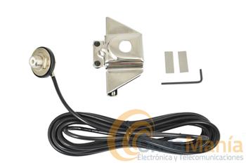 TELECOM RB-TRW + C-4 - Soporte de maletero Telecom DJ-GRM + cable C-4, en este articulo damos la opción de compra por separado.