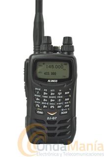 ALINCO DJ-G7E PORTATIL TRIBANDA 144/430/1240 MHZ. SIN GASTOS DE ENVIO. - Emisor receptor portatil de FM tribanda 144/430/1240 Mhz, con radio de FM comercial, duplex, CTCSS, DCS, sumergible IPX7,...