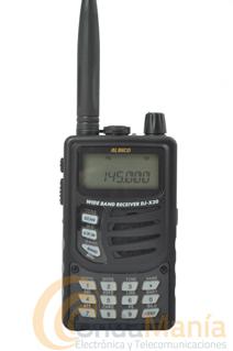 RECEPTOR ESCANER ALINCO DJ-X30 - Receptor escaner Alinco DJ-X30 con una cobertura de 0,100 Mhz a 1299.995 Mhz con 1000 canales dememorias repartidos en 10 bancos, con AM, FM y WFM,...
